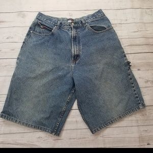 VINTAGE TOMMY HILFIGER DISTRESSED MEN'S SHORTS 34